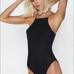 Nasty gal ribbed body suit